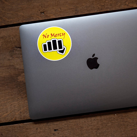 Cobra Kai No Mercy Sticker