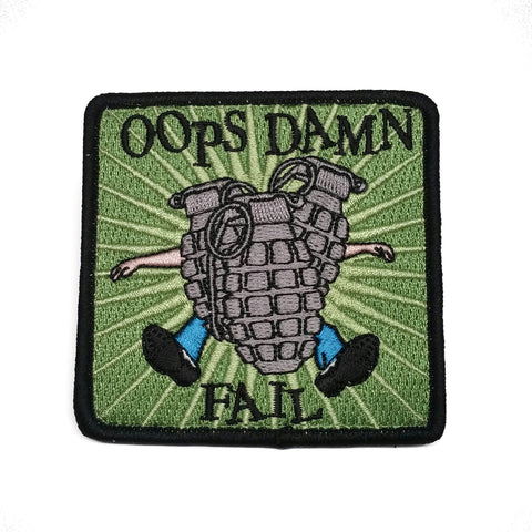 OOPS DAMN FAIL Morale Patch