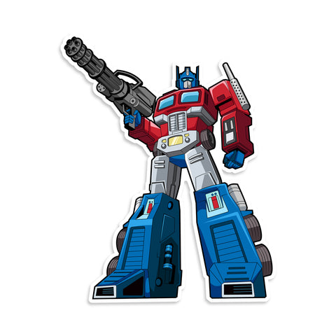 Transformer Optimus Prime Sticker