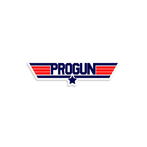 PROGUN Top Gun Parody Vinyl Sticker