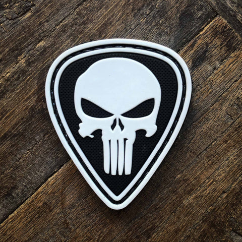 Guitar Pick Punisher Patch