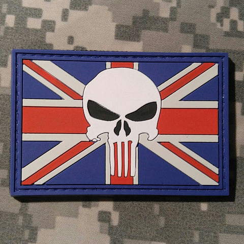 Punisher UK - PVC Morale Patch