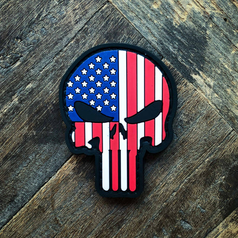 Punisher US Flag Patch