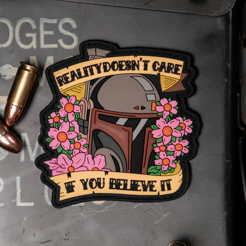 Boba Fett Reality Doesn't Care If You Believe It Patch
