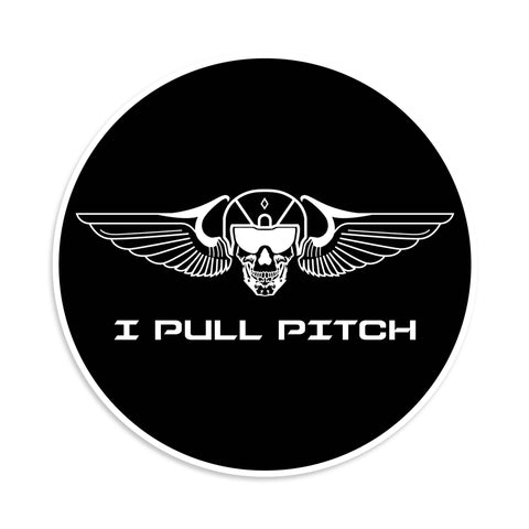 I Pull Pitch Sticker