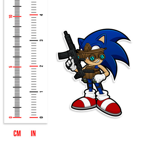 Tactical Sonic Vinyl Sticker