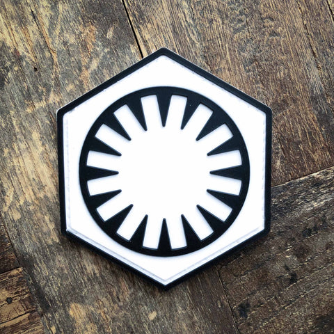 Star Wars First Order PVC Morale Patch
