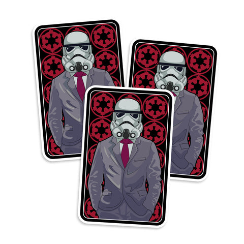 Fly As Fuck Stormtrooper Suit Vinyl Sticker