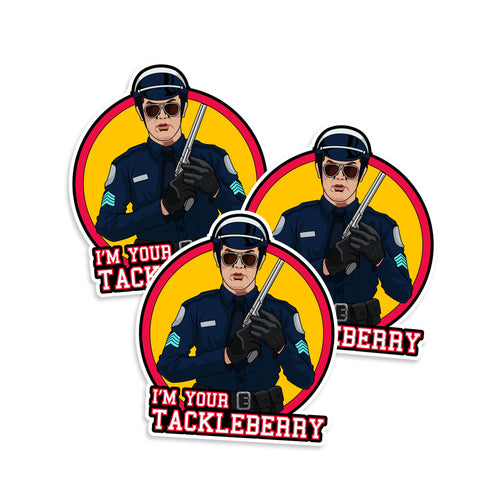 Police Academy I'm Your Tackleberry Vinyl Sticker