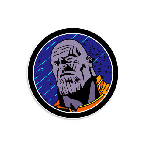 Thanos V1 Vinyl Sticker