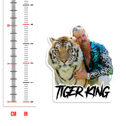 Tiger King Joe Exotic Vinyl Sticker Pack