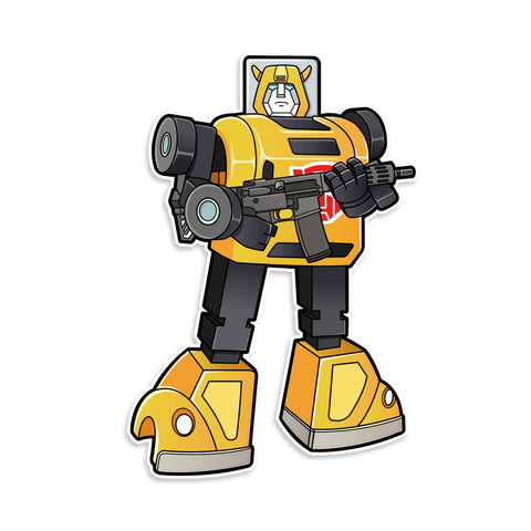 Transformer Bumblebee Sticker