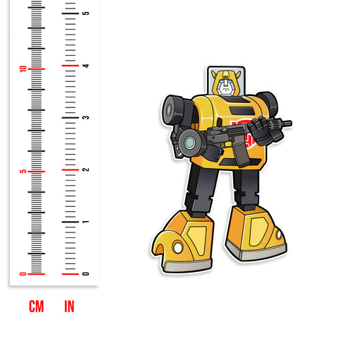 Transformer Bumblebee Vinyl Sticker
