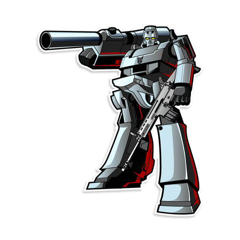 Transformer Megatron G1 Sticker