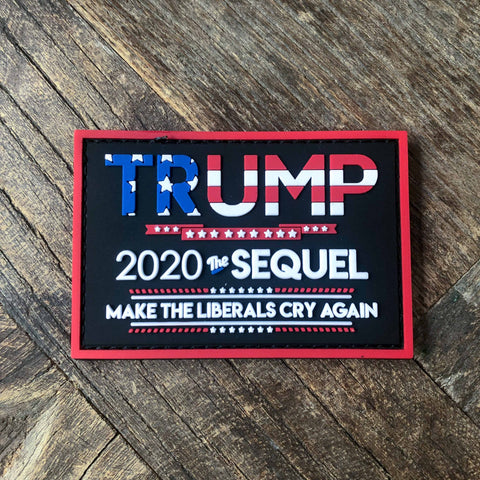 Trump 2020 The Sequel PVC Morale Patch