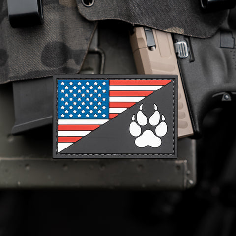 US Flag K9 Patch