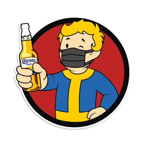 Vault Boy Cinco De Mayo Sticker