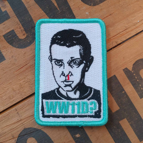 Stranger Things WW11D? - PVC or Embroidered