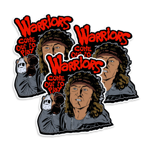 Warriors Come Out To Play Sticker