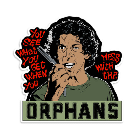 Orphans Gang Warriors Sticker