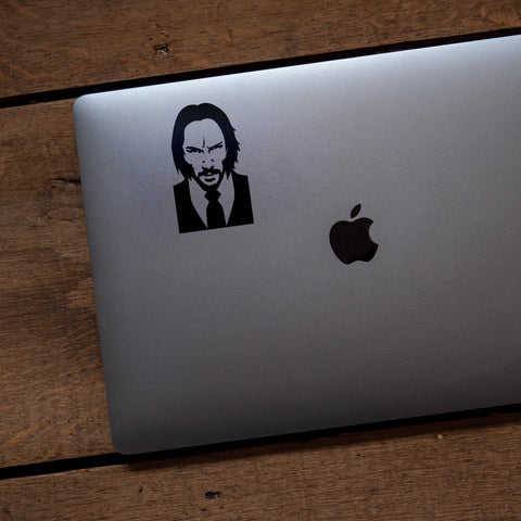 John Wick Silhouette Vinyl Transfer Decal - SALE