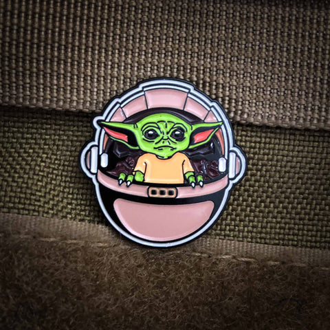Baby Yoda Soft Enameled Pin