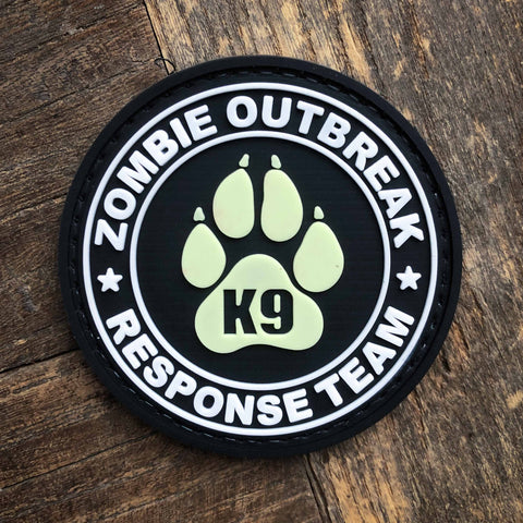 Zombie Outbreak K9 Response Team Patch