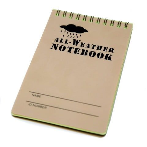 "All-Weather Notebook (4"" x 6"")"