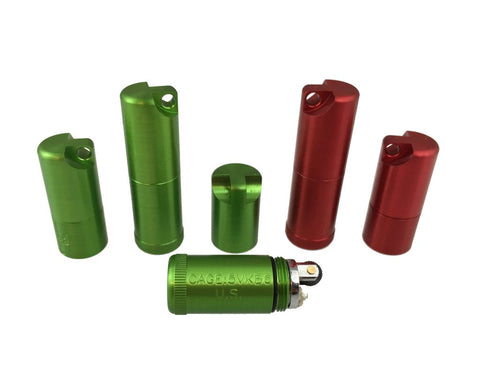 Anodized Peanut Lighters by Maratac REV2
