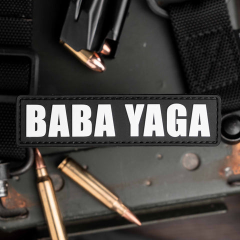 Baba Yaga Name Tape Patch