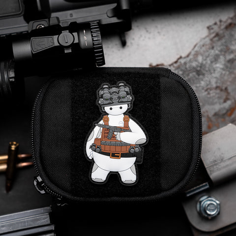 Tactical Baymax Big Hero 6 PVC Morale Patch