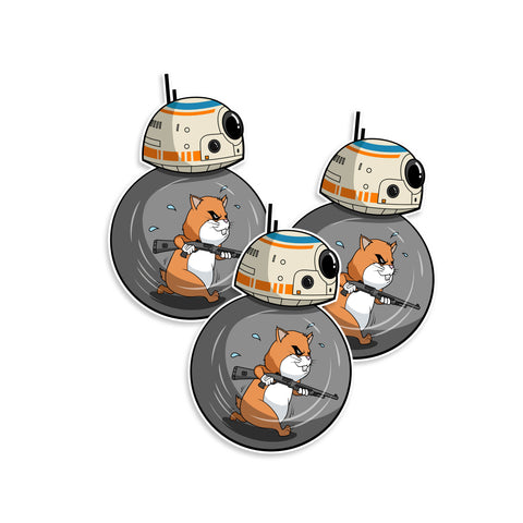 Hamster Powered BB-8 Benelli M2 Star Wars Vinyl Sticker