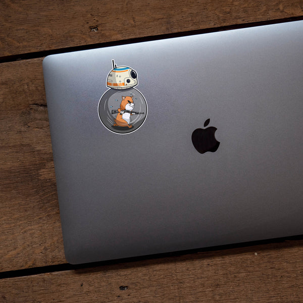 Hamster Powered Bb 8 Benelli M2 Star Wars Vinyl Sticker