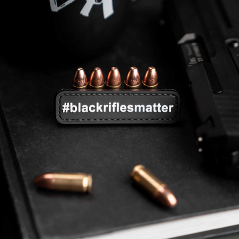 #blackriflesmatter patch