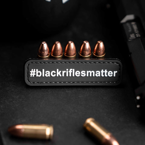 Black Rifles Matter Patch