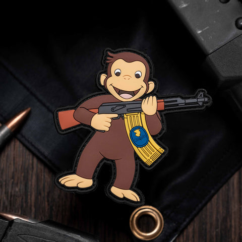 Curious George AK-47 Patch