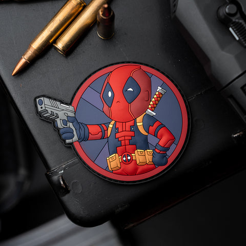 Deadpool Vault Boy Mashup Patch