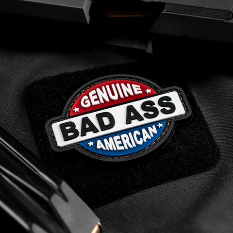 Genuine Bad Ass American Patch