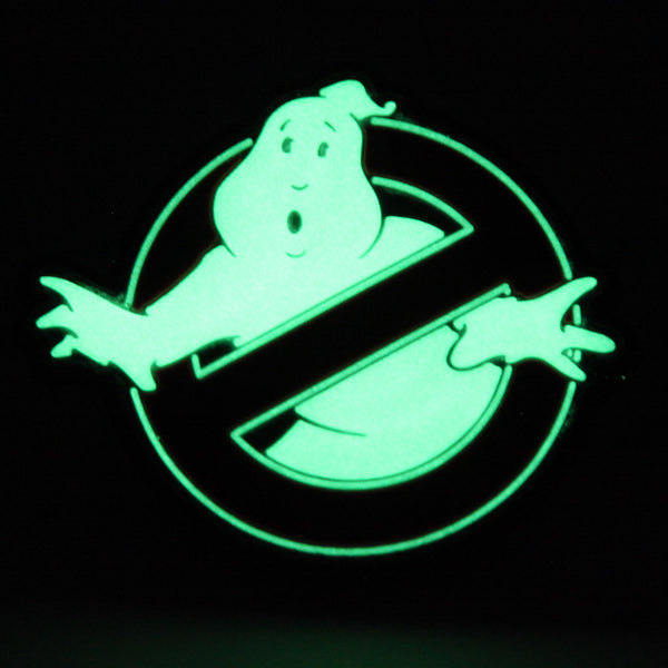 Ghostbuster Glow In The Dark Pvc Morale Patch Neo