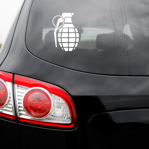 Grenade Vinyl Transfer Decal
