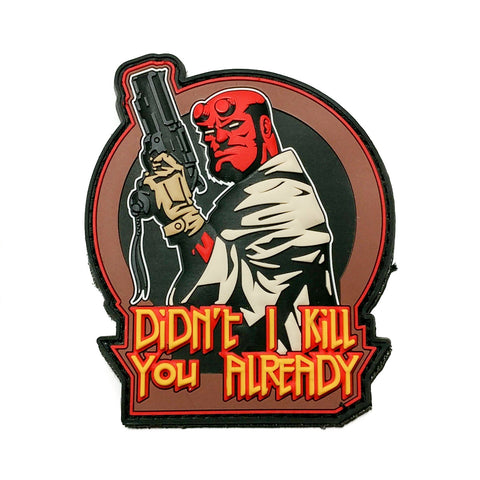 Hellboy Morale Patch