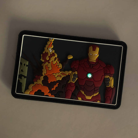 Iron Man PVC Morale Patch