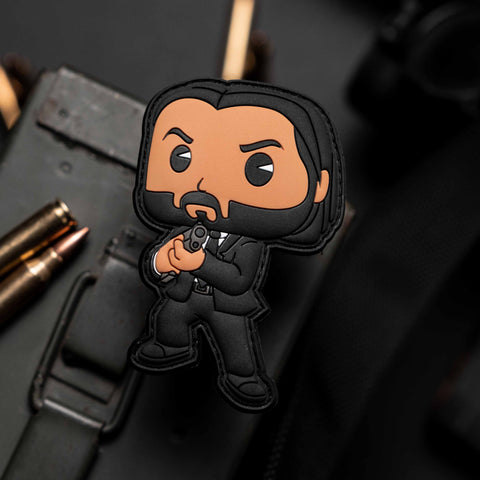 John Wick Funko Pop Patch