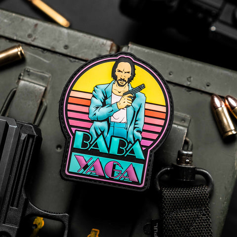 John Wick Miami Vice Mashup Patch