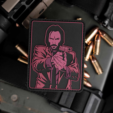 John Wick On Target Patch