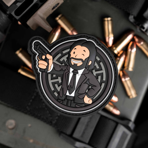 John Wick Vault Boy Patch