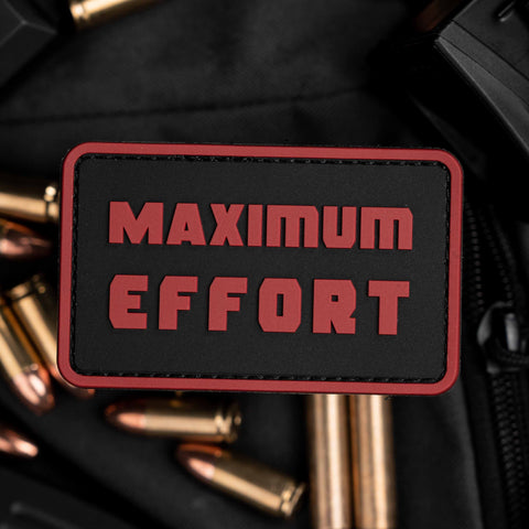 Maximum Effort Patch