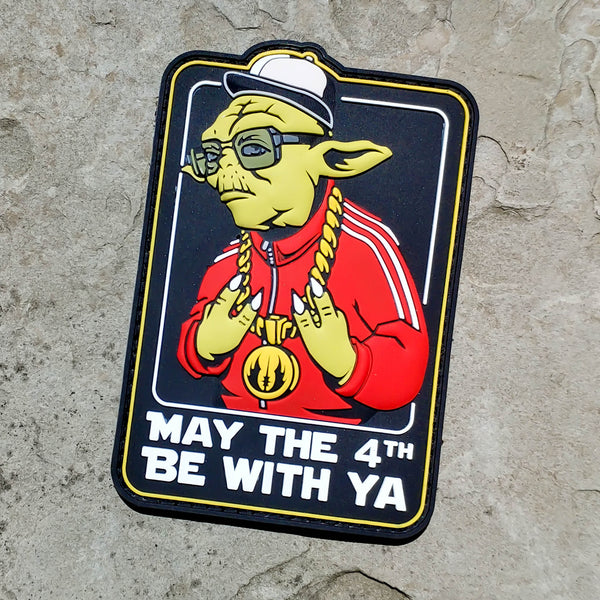 May The 4th Be With Ya Star Wars Pvc Morale Patch Neo