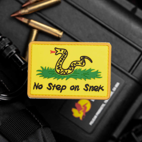 No Step On Snek Patch