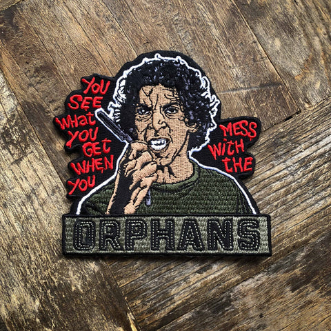 Orphans Embroidered Patch
